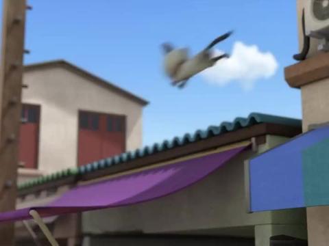 超级飞侠:小爱和乐迪的配合,瞬间就清理轨道,让火车安全通过!
