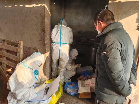南充市嘉陵区市场监督管理局查获一起涉嫌非法经营进口冷链食品案