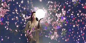"""花溪天河潭""""梦中花 · 身外影""""光影互动艺术展"""