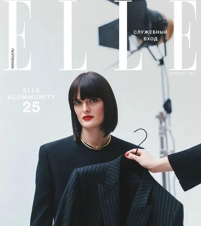 昔日超模David Gandy 登上俄罗斯版《ELLE》25周年纪念刊