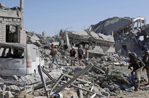 海湾联军向也门狂轰一通,不受疫情影响,一样打败不了胡塞没啥用