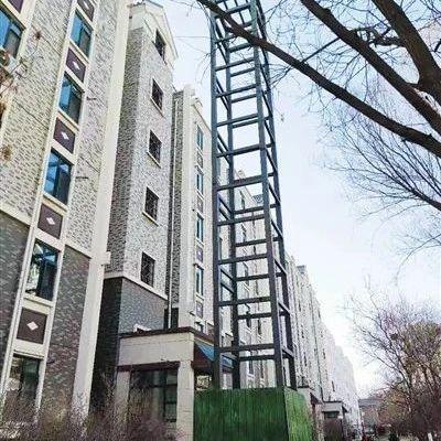 银川一小区电梯加装工程搁置一年多