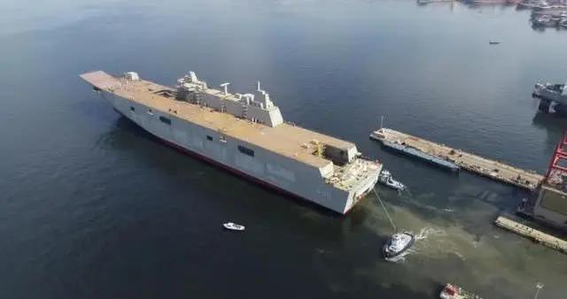 土耳其9个月就造出1艘航母,到底谁给的技术?