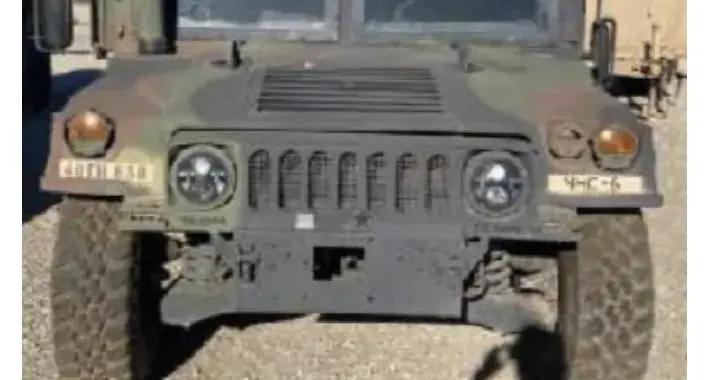 军事装甲车在洛杉矶失窃 联邦调查局悬赏1万