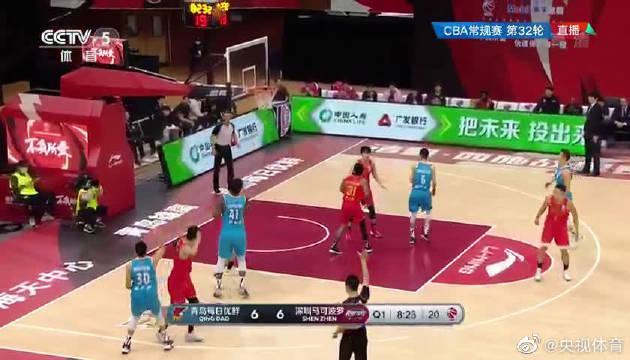 青岛加时力克深圳结束8连败