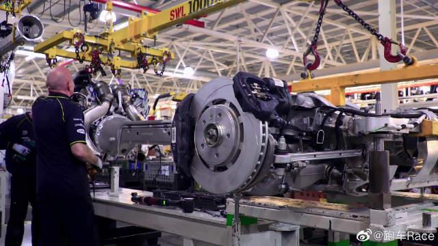 阿斯顿马丁DB11生产工厂
