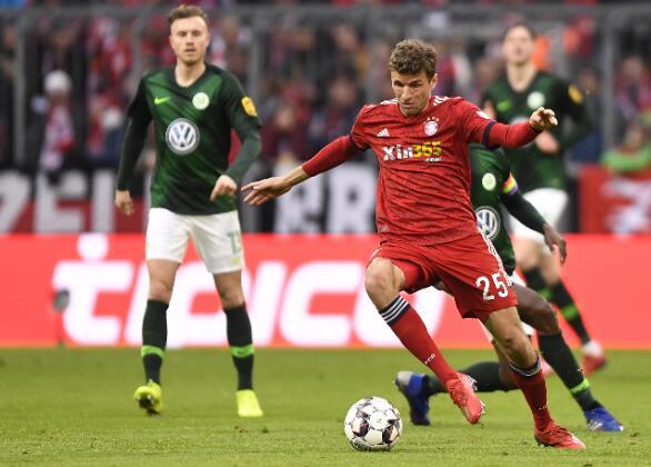 滚球穆勒上赛季至今完助攻39球,拜仁慕尼黑未来可期