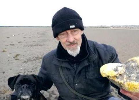 """老大爷在海边捡回一块罕见""""怪石头"""",找专家鉴定后,狂喜"""