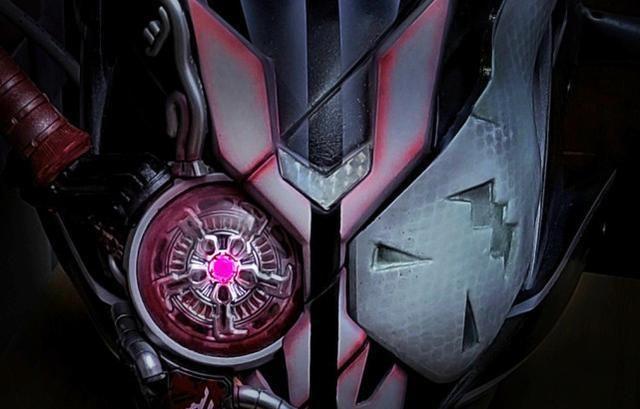 假面骑士同人:1号走错片场,紫沃兹造型满分,太帅了
