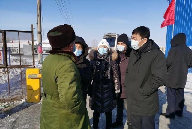 县委书记郭广福调研指导城乡疫情防控工作
