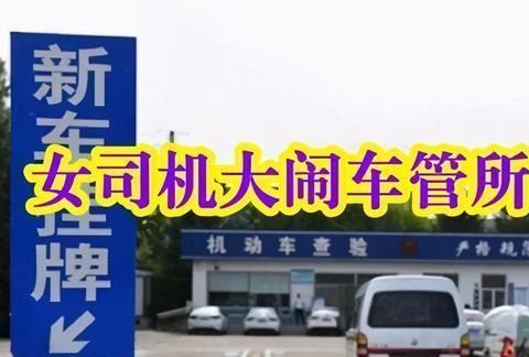 广州女司机大闹车管所:卖车卖油的合格,为啥年检就不合格?