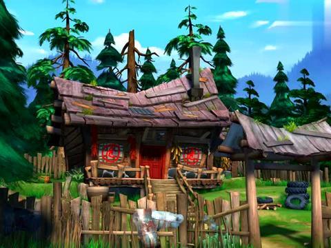 熊出没:危房改造,光头强要搬家了,运气好呀可以有新房子住了