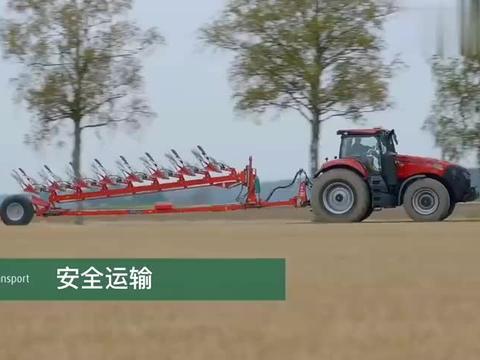 5-8沟犁地拖拉机,超强的马力,展现它的精彩