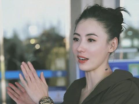 40岁张柏芝晒近况,录《浪姐》嫩如少女,确定是三个孩子的妈?