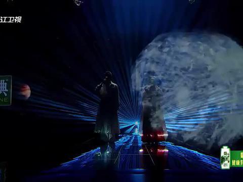 霍尊龚琳娜《带着地球去流浪》,极致高音太震撼,此歌只应天上有