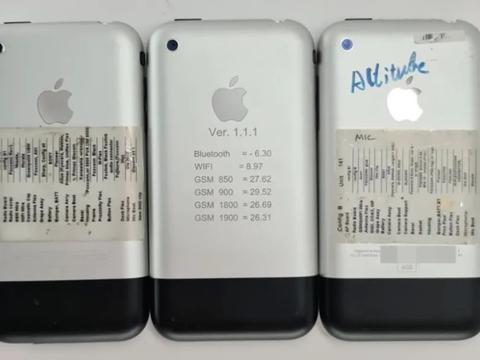 看看几款iPhone的原型机,非常稀有