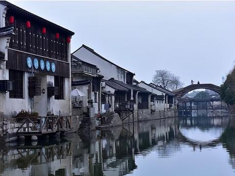 上海有一低调古镇走红,被大家所熟知,希望一直保持其原有的面貌