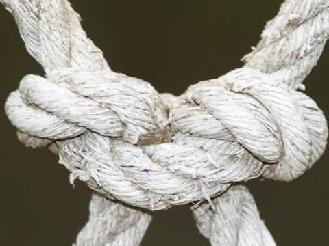 心理测试:哪种绳结最不牢固,测出你这一生中心结最深的地方?