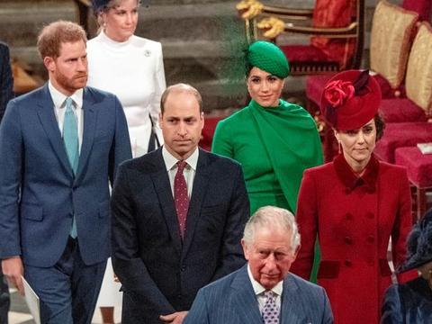 哈里梅根出走王室让大家很受伤,千万商业合约抢走威廉凯特风头