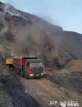 忻州市保德县裕新发洗煤厂 排矸场内毒气漫天飞舞