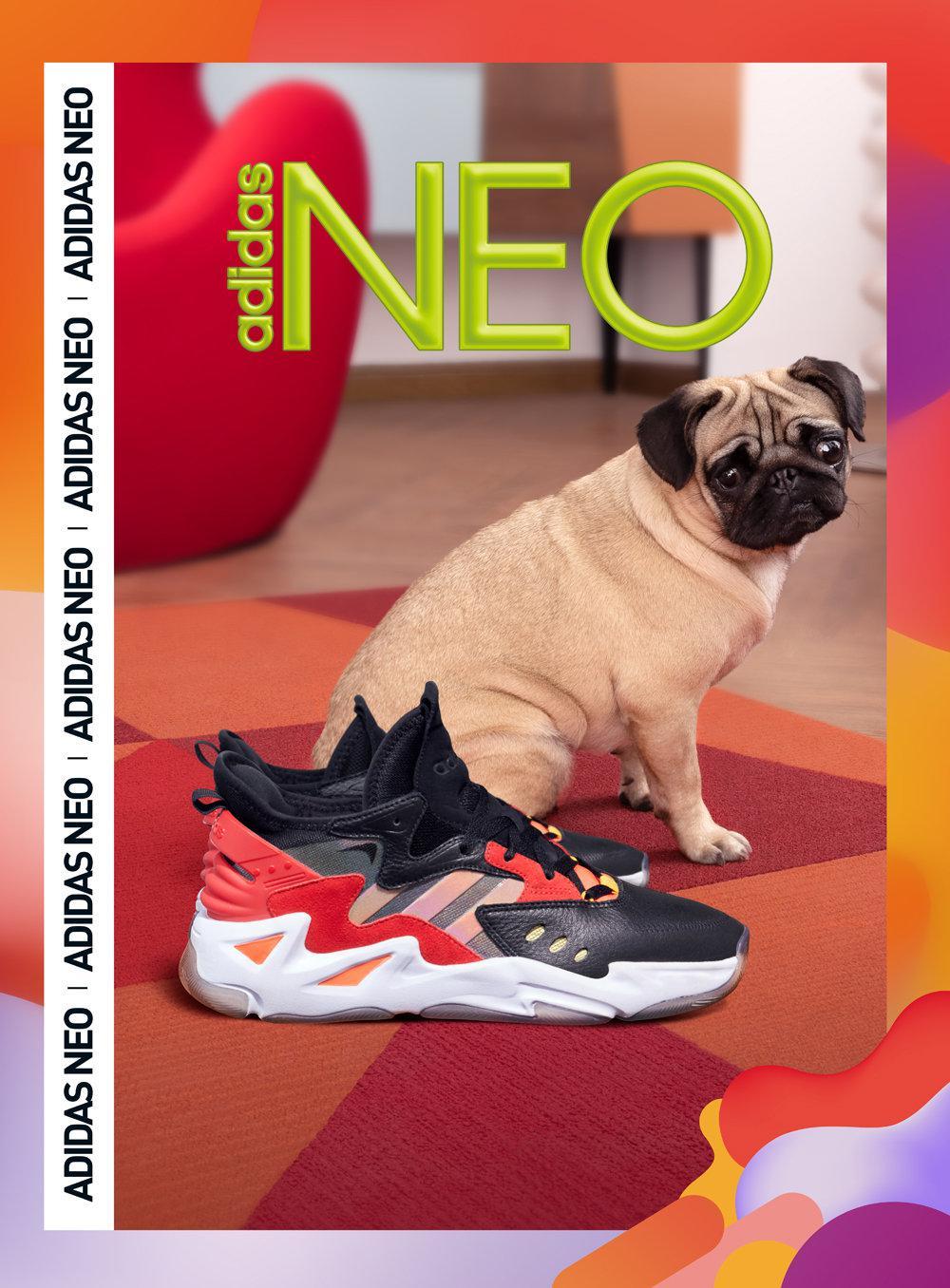 adidas neo FIREWALKER焱系列滚烫登场,火力全开