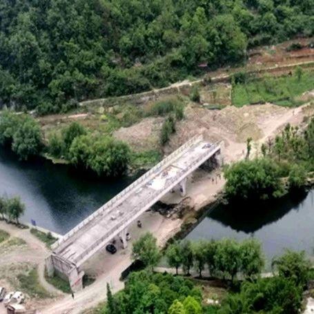 融媒问政丨花溪十里河滩腾龙湾跨河桥预计三月投用
