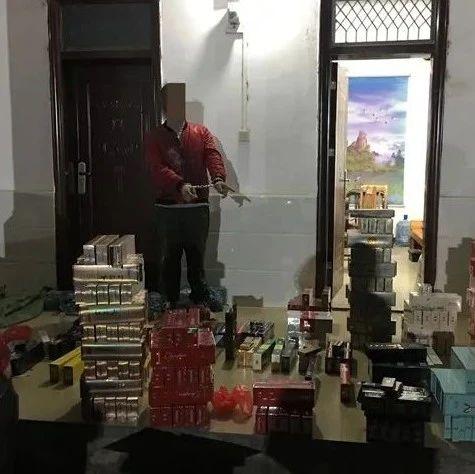 玉林警方破获2起非法经营卷烟案