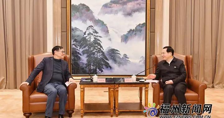 林宝金尤猛军与中国工程院院士戴琼海座谈