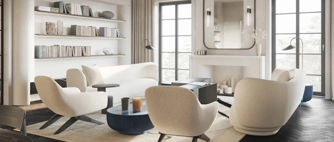 170㎡ 现代公寓,家具这么选格调就有了