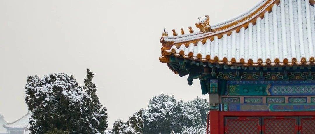 """2021年北京的第一场雪如约而至,相约一场""""穿越时空之旅""""吧!"""