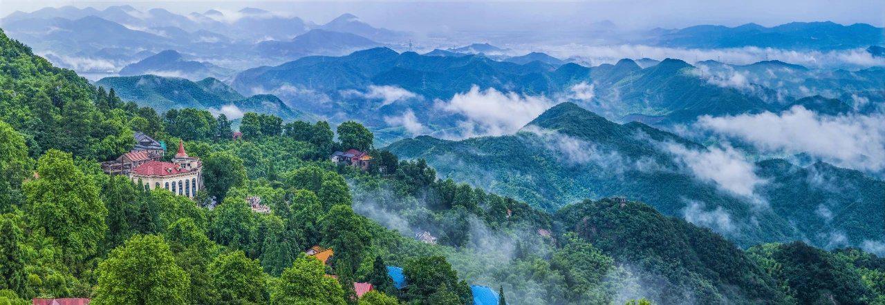 莫干山,属于天目山余脉,位于浙江德清境内……