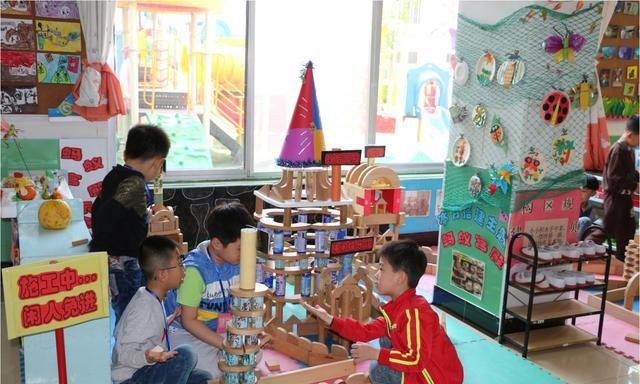 青岛胶州市合点并园,提升农村学前教育质量