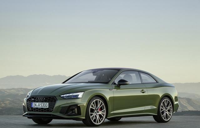 放弃3系买它,奥迪A5Coupe的新车实拍,更具运动感