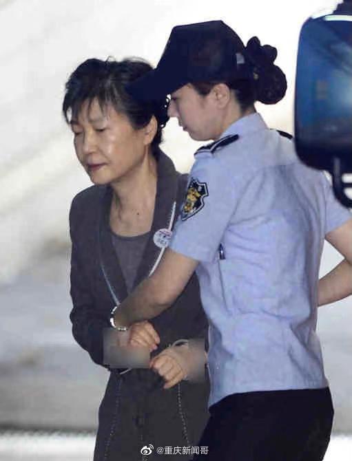 韩国政治真残酷,上一任总统朴槿惠现在都成这副模样了……
