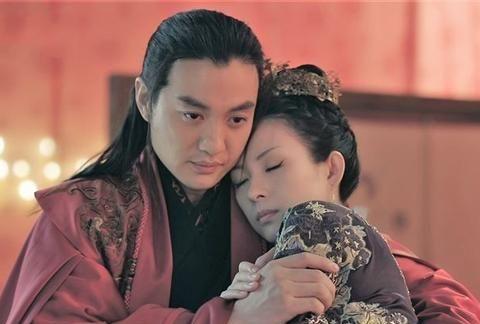 金马奖影后惠英红,饰演谢贵妃,临死前与皇后对手戏流泪剧照曝光