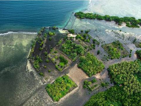 海上的金字塔,布满巨大玄武岩,连科学家都无法解释怎么建成的?