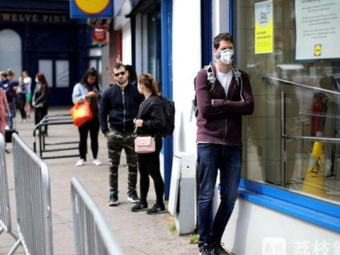 英国国家统计署:英格兰每8人就有1人染疫