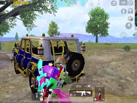 冰糖游戏:蹦蹦车还能用来攻楼?学会这招,敌人被气得点了举报