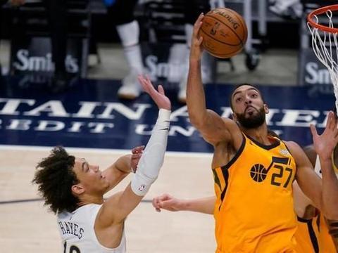 NBA比分:鹈鹕胖虎强攻32分威力掺水分 戈贝尔防他全场0次犯规