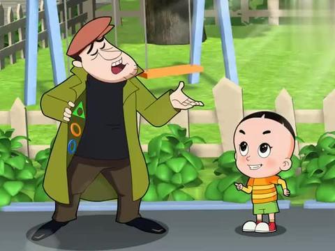 大头儿子:小贩真能骗小孩,大头傻傻相信了,差点被骗钱