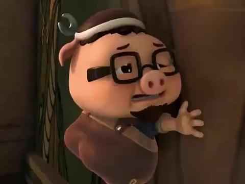 猪猪侠:希望之剑好调皮,什么时候了还和猪猪侠玩躲猫猫!