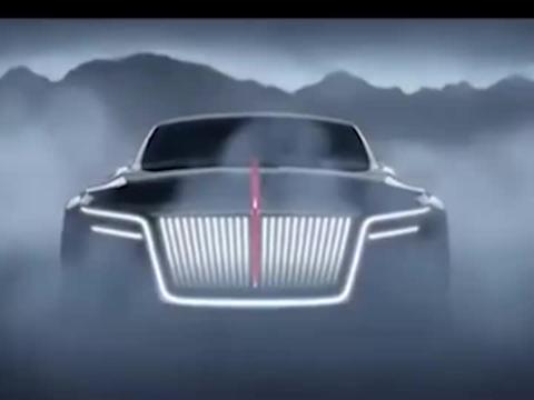 实拍红旗S系轿跑,这外形超科幻