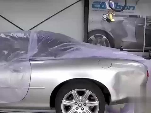 严谨的德国工人,是这么修复事故车的