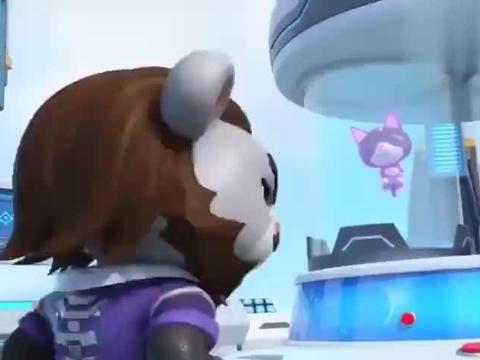 猪猪侠:雷帝斯费劲心思争夺萌宠,穿越时空,就为吃上一口泡面