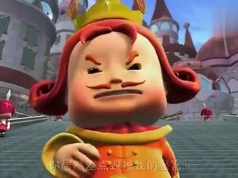 猪猪侠:国王请珊珊来表演,她却吓跑了国王的贵宾,国王关她禁闭