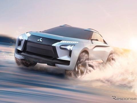 轿跑风格突出,三菱e-EVOLUTION假想图曝光