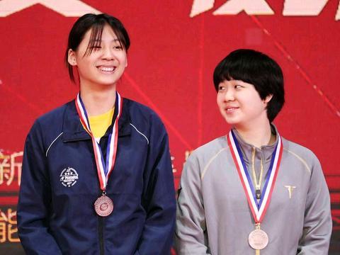 国乒的模特队,女乒的王曼昱、钱天一等人,身高媲美男乒选手