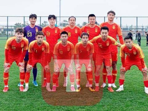 国奥热身5-1中甲队!蒋圣龙梅开二度惊天世界波吊射 刘若钒破门