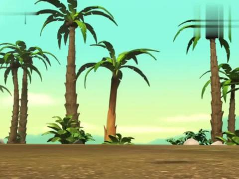 汪汪队:甜甜想在森林称王,却遇到美猴王,要开始争夺王座了!