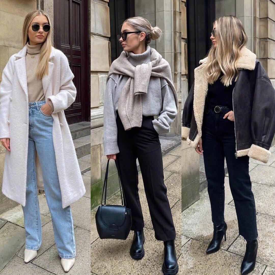 伦敦女生穿搭小合集,慵懒随意的时尚感穿搭示范
